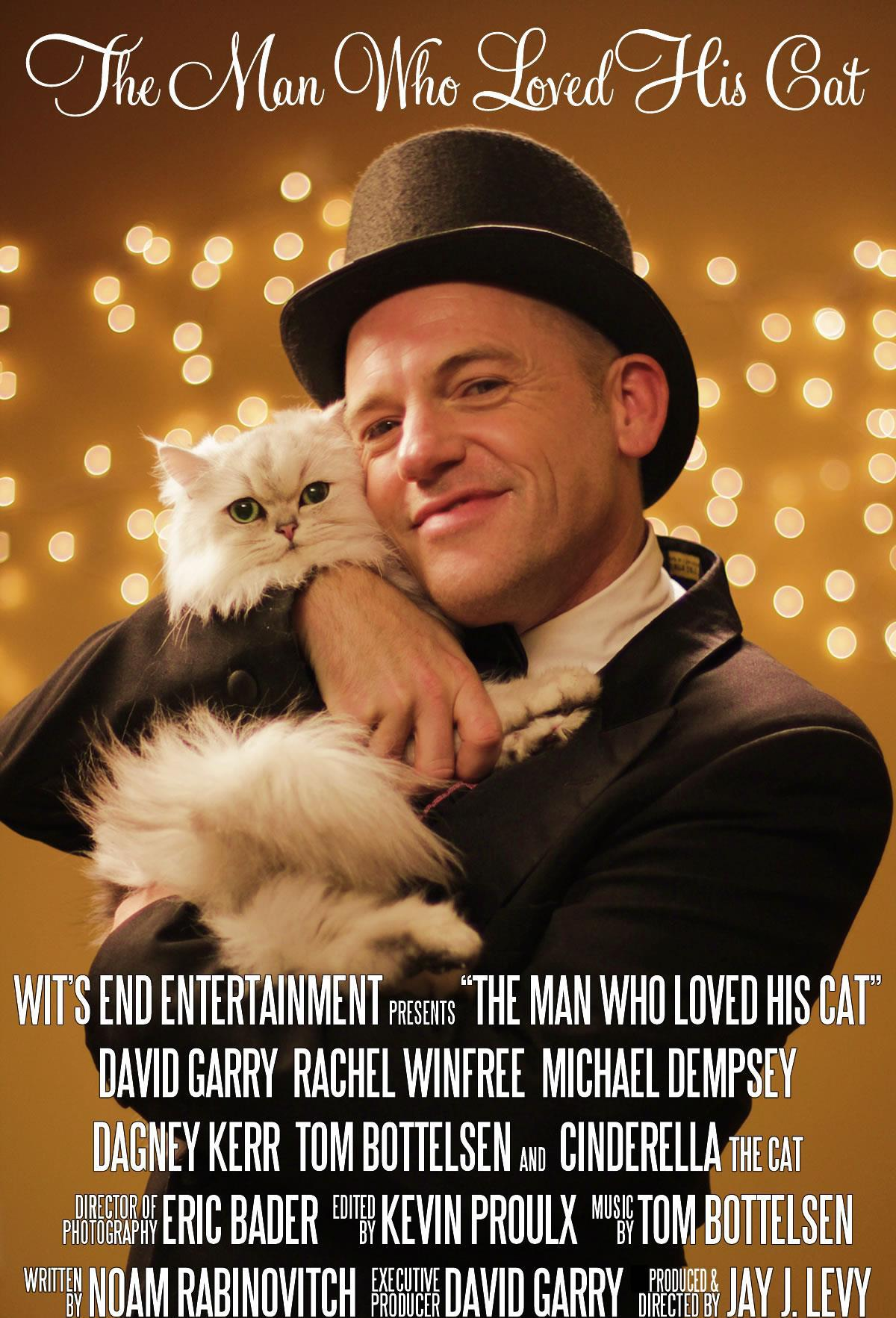 Cinderella starring in, The Man Who Loved His Cat!